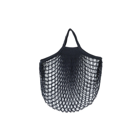 Net Bag With Short Handles Black, The Fine Store