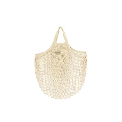 Net Bag With Short Handles Natural, The Fine Store