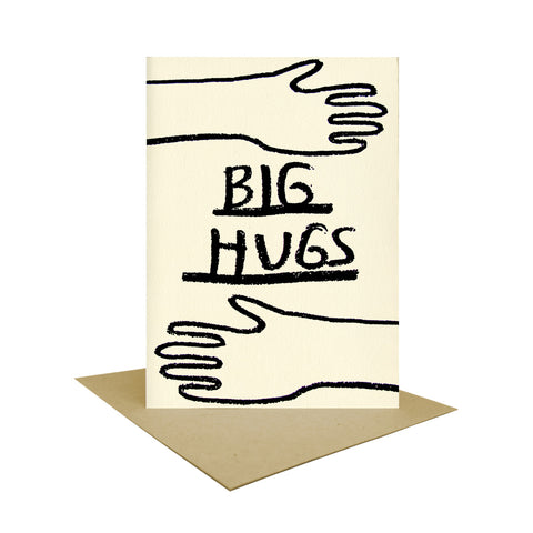 Big Hugs Postcard, People I've Loved