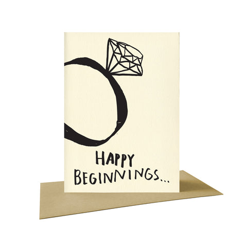 Happy Beginnings Postcard, People I've Loved