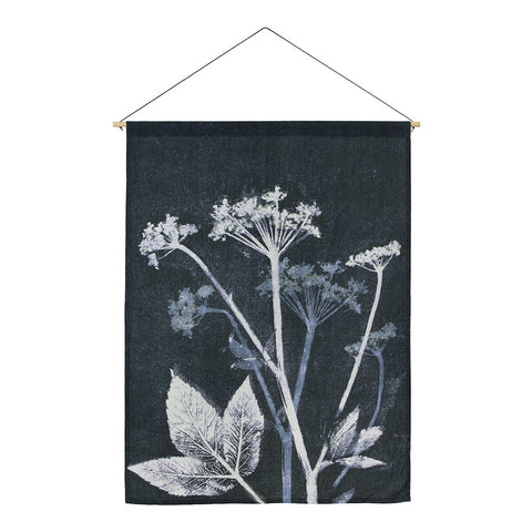 Groundelder Blue Wallhanging, Pernille Folcarelli