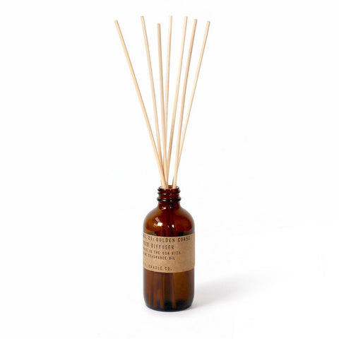 Golden Coast Reed Diffuser, P.F. Candle Co.