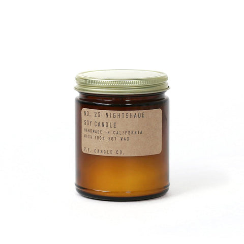 Nightshade Soy Candle, P.F. Candle Co.