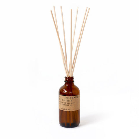Amber & Moss Reed Diffuser, P.F. Candle Co.