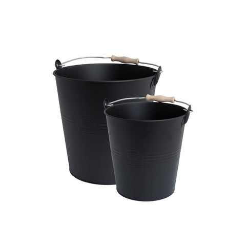 Bucket With Wooden Handle, Redecker