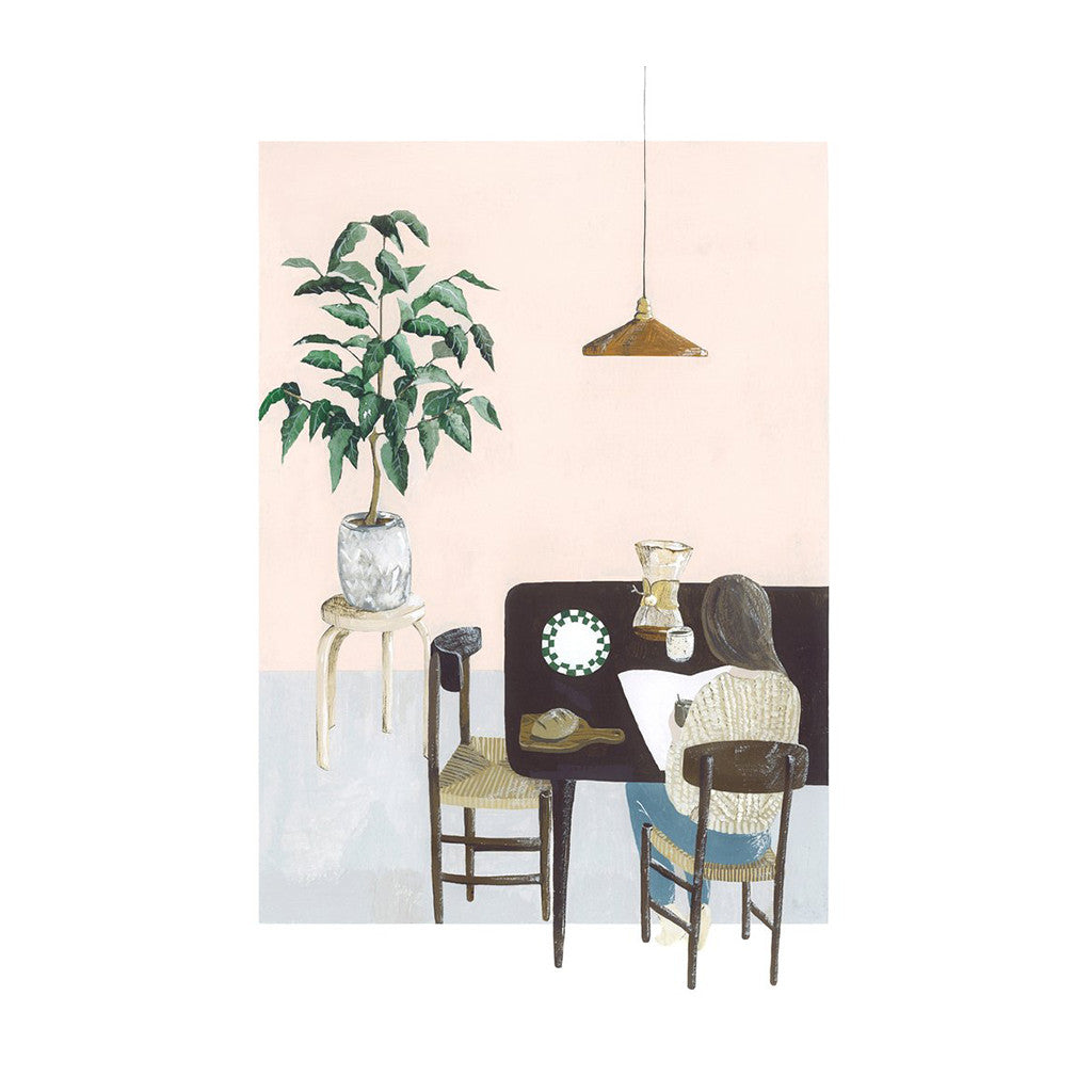 Morning Coffee Limited Edition Print Saar Manche The
