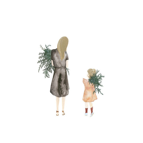 Mother and Daughter Limited Edition Print