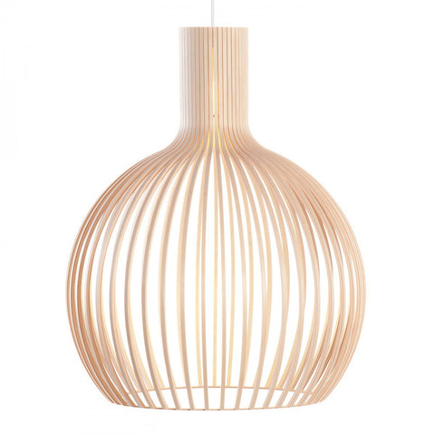 Octo 4240 Pendant Natural Birch, Secto Design