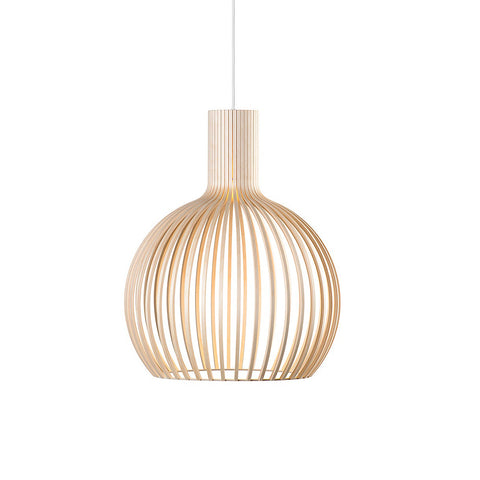Octo Small 4241 Pendant Natural Birch, Secto Design