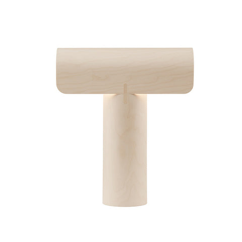 Teelo 8020 Table Lamp Natural Birch, Secto Design
