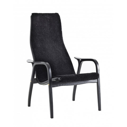 Lamino Easy Chair Black, Swedese