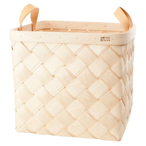Lastu Basket Large, Verso Design