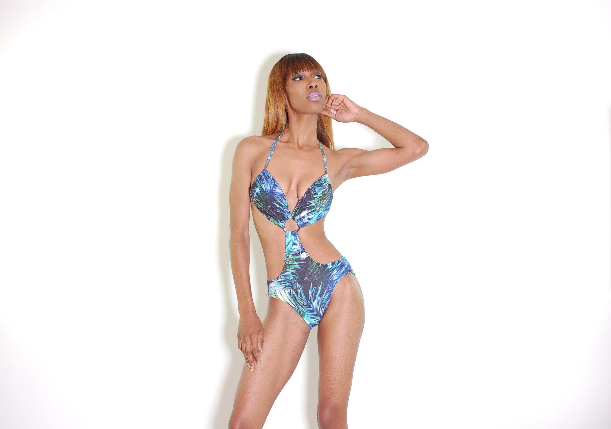 Tropical Print Monokini