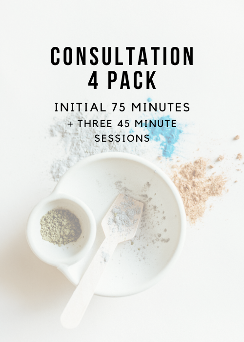 Package of 4 - Initial 75 Minutes + 3 45 Minute Sessions