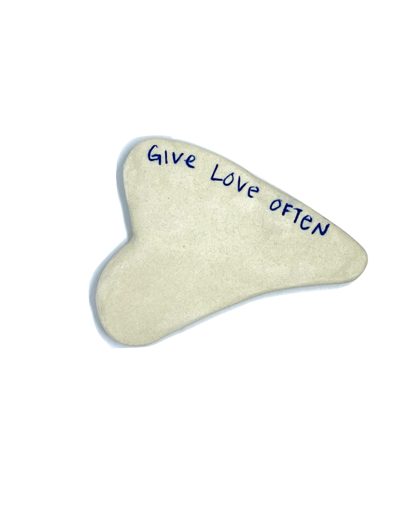 Handmade Gua Sha Stone (Back in stock)