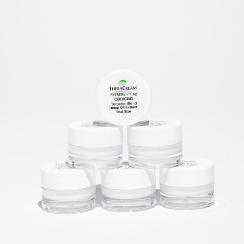 NEW THERACREAM® Extreme (CBD & CBG) Trial Size (6) Pk.