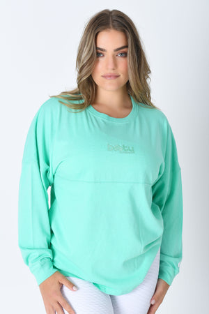 Heart On Your Sleeve Tee Mint