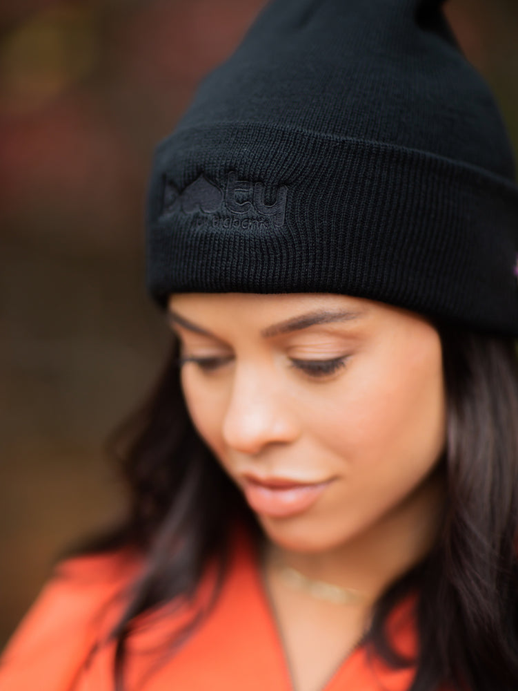 Load image into Gallery viewer, Booty Beanie Black