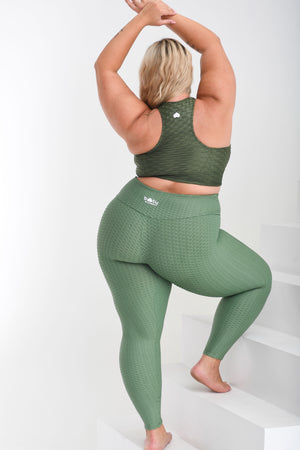 Load image into Gallery viewer, Curvy LBL Leggings So Money