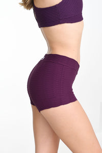 Booty Boy Shorts Açaí