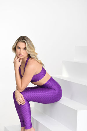 Chrome Leggings Amethyst