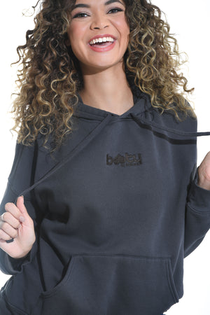 Load image into Gallery viewer, Oversized Booty Hoodie Charcoal