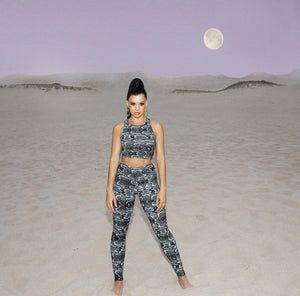Load image into Gallery viewer, Eclipse Leggings Black