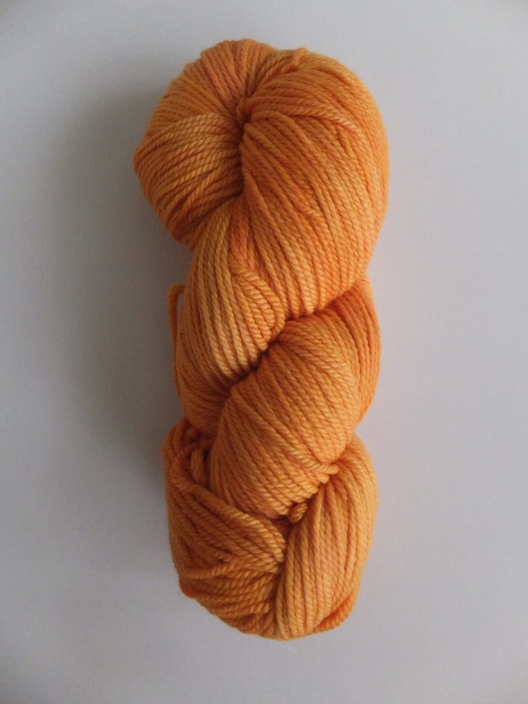 Natural Colours Organic Merino Wool Yarn - Tiger Lily