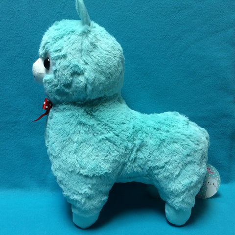 Alpaca Plush Teal 15""