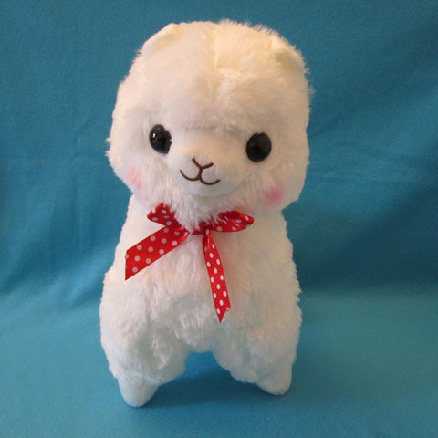 Alpaca Plush White 15""