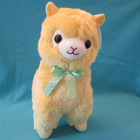 Alpaca Plush Yellow 15""