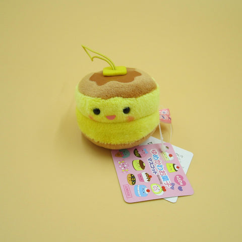 Mini Pancake Plush Keychain