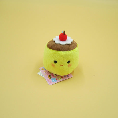 Mini Pudding Plush Keychain