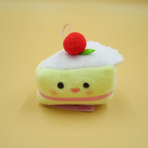 Mini Short Cake Plush Keychain