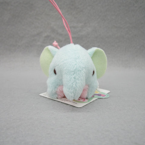 Mini Elephant Plush Keychain