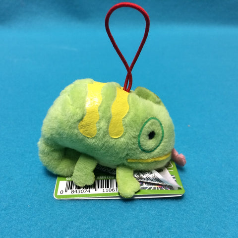 Mini Iguana Plush Keychain