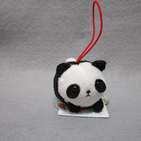 Mini Panda Plush Keychain