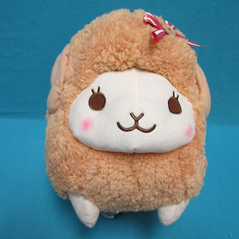 Fuwamoko Natural Wooly the sheep 38cm Brown
