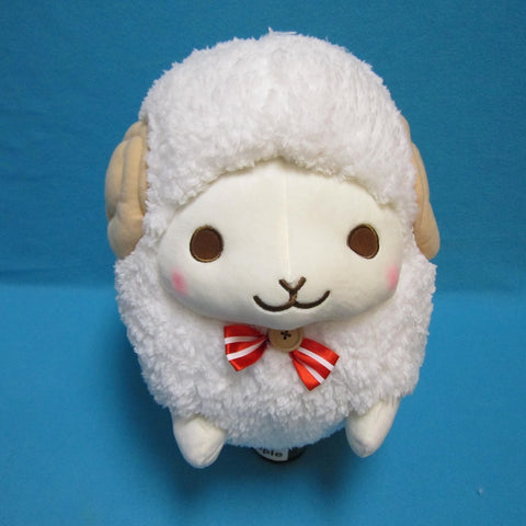 Fuwamoko Natural Wooly the sheep 38cm White