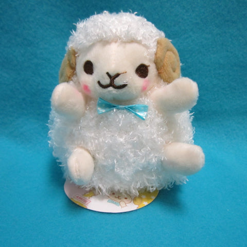 "Fluffy Hugging Sheep Plush 4.5"" (white)"