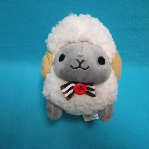 Fuwamoko Natural Wooly the sheep 18cm White/Grey