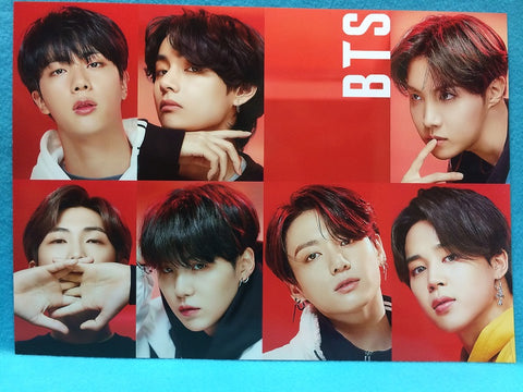 Copy of Kpop - BTS Poster Set V14 - Style 12