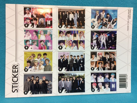 Kpop - BTS Poster Set V8 - Sticker