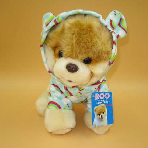 Boo - the World's Cutest Dog (9 In) - Rainbow Outfit