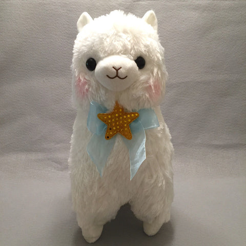 Kirarin Star Alpacasso Plush 40 cm (White)