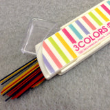 3 Colors Colored Lead Stripes Container