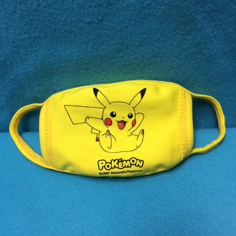 Face Mask - Pokemon (Pikachu), for Kids