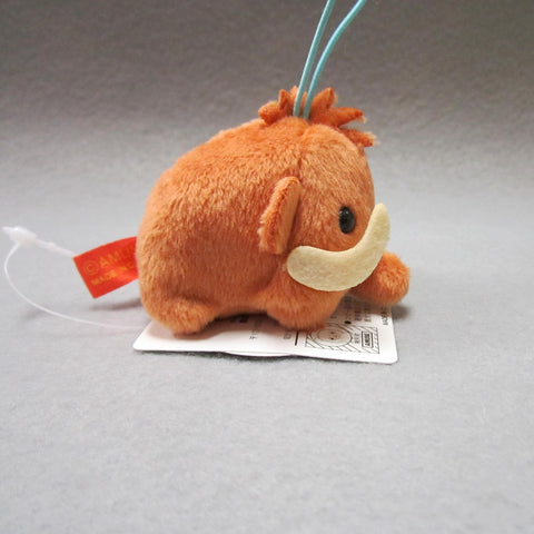 Mini Mammoth Plush Keychain