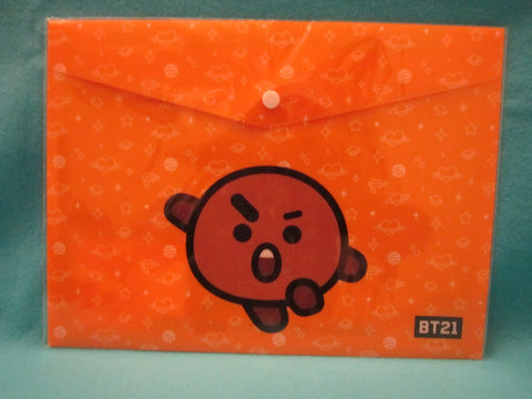 Kpop - BTS BT21 PPFilePocket Orange