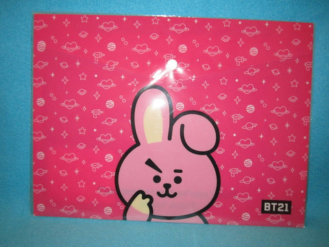 Kpop - BTS BT21 PPFilePocket Pink